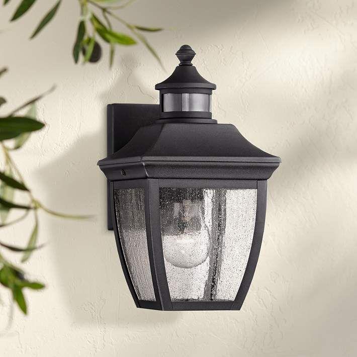 Beaufort 12 High Black Motion Sensor Outdoor Wall Light 42f40 Lamps Plus Outdoor Wall Lighting Sensor Lights Outdoor Wall Lights