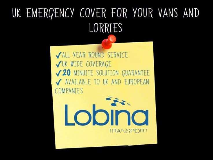Lobina #Breakdown #Services: offering a complete emergency service to respond to all your breakdown needs. Membership covers companies based in the #UK and abroad, 24 hours a day, 7 days a week. Our service provides a benefit in the event your vehicle is subject to a Prohibition Order, a Statutory #Recovery Notice or a breakdown.