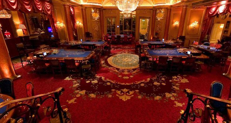 The main gaming hall at the Ritz casino, London, UK
