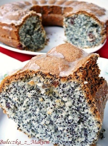 babka z makiem polish poppy seed cake. Yum!