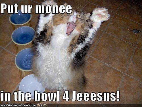 Quite possibly my favorite LOLcat.