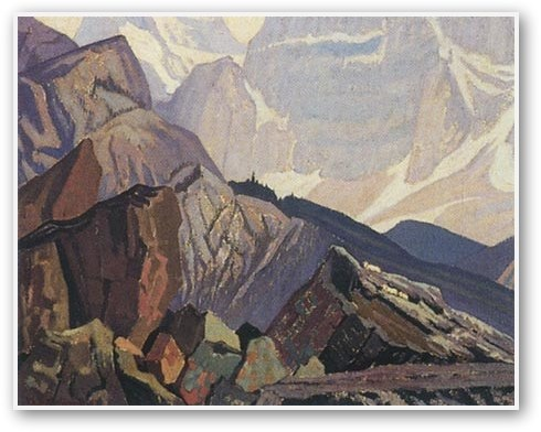 J.E.H. MacDonald  Goat Range Rocky Mountains