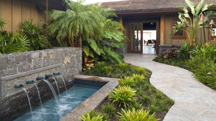 1920x1080 Beautiful Hawaiian Zen Garden With Waterfall And Pond ... | Donu0027t  Fence Me In.... | Pinterest | Gardens And Backyard
