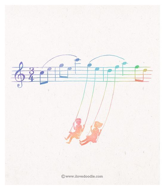 Swing with me #art #print #poster