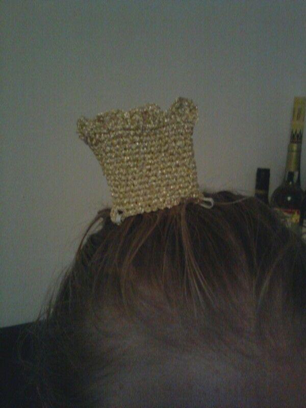 Gehäkelte Krone