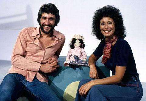 Playschool, ABC Australia: John Waters, Jemima and Benita Collings.