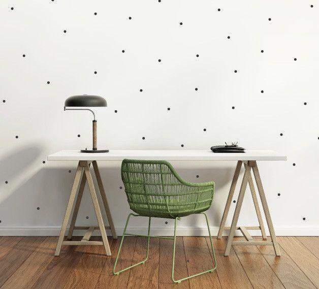Luxury Mini Dots Wandsticker cm Punkte Kreise Wandtattoo