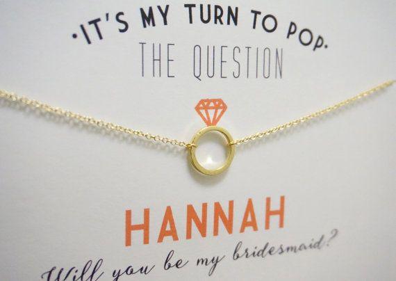 Gold Bridesmaid Card Bridesmaid Proposal Ask Bridesmaid