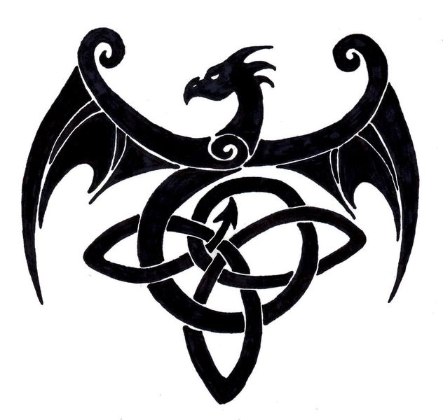 Celtic Dragon Knot