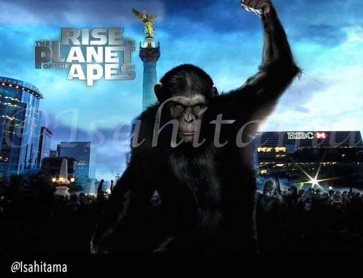 Photoshop CC Dawn of the Planet of the Apes  El Planeta de los Simios: Confrontación #Cesar