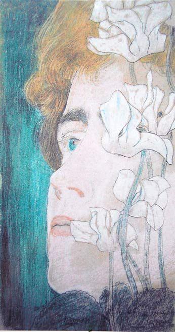 Jan Toorop 1858-1928 - Untitled