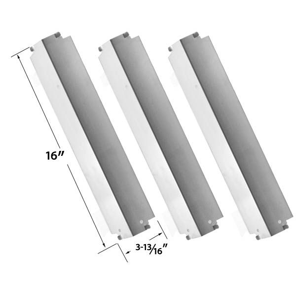 3 PACK REPLACEMENT STAINLESS STEEL HEAT COVER FOR XPS, KENMORE, COLEMAN 85-3026-0, 85-3028-6, G52203, G52204 AND CHARBROIL LOWES 463248208 GAS GRILL MODELS  Fits XPS Models : DXH8303  BUY NOW @ http://grillrepairparts.com/shop/grill-parts/3-pack-replacement-stainless-steel-heat-cover-for-kenmore-coleman-85-3026-0-85-3028-6-g52203-g52204-and-charbroil-lowes-463248208-gas-grills/
