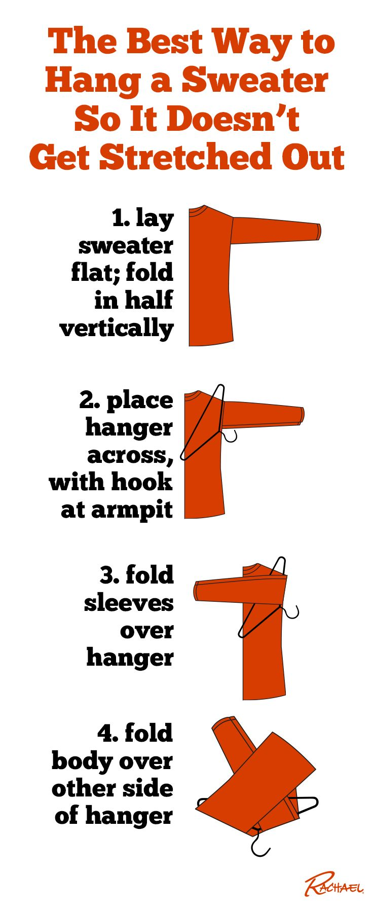 the best way to hang a sweater so it doesn t get stretched out good ideas. Black Bedroom Furniture Sets. Home Design Ideas