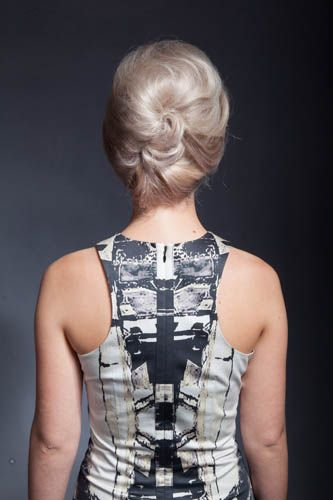Pinned to perfection Up-do!