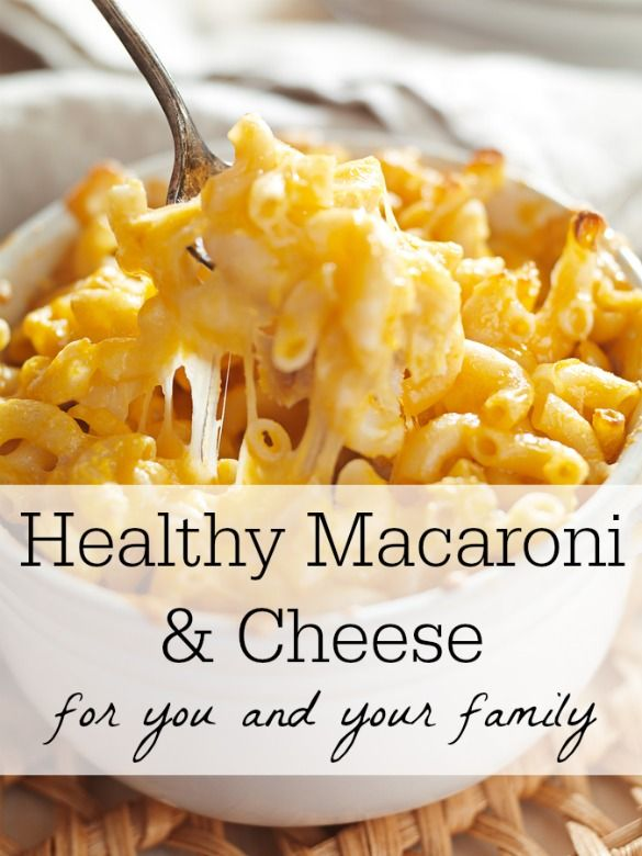 Try this Healthy Mac and Cheese recipe for a quick and easy on-the-go recipe for a busy family.