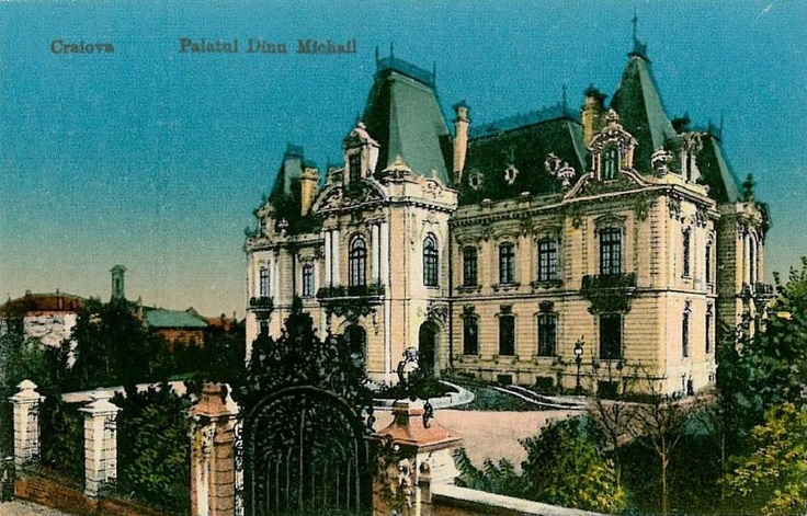 Craiova, Palatul Dinu Mihail anii '20