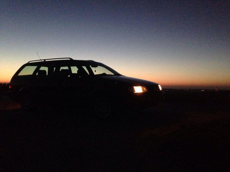 Sunset. Passat 35i