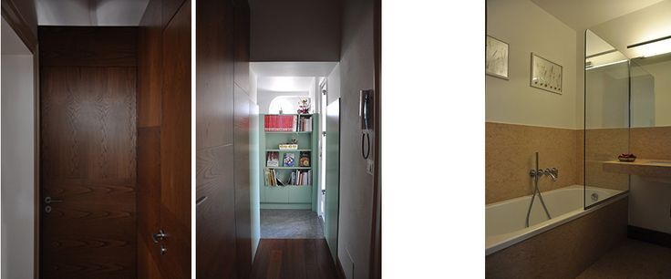 SM - House - interior design by arch Simona Perrotta GASParch - Bathroom and passageway