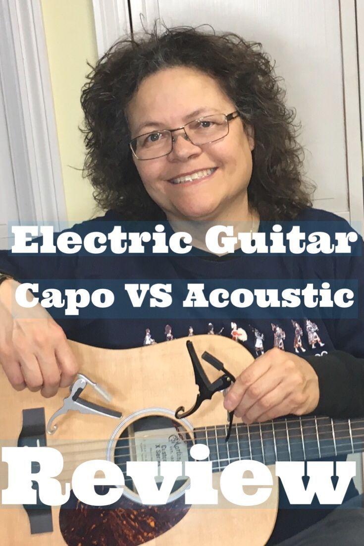 Electric Guitar Capo Vs Acoustic Review Yourguitarguide Com Guitar Capo Electric Guitar Capo Electric Guitar