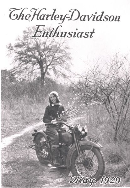 "Vivian Bales the first H-D cover girl in 1929 rides 5,000 miles. Davidson founder Arthur Davidson called Vivian Bales ""The Georgia Peach,"" and newspapers across the country hailed the ""Enthusiast Girl."" Yet today, few people know who Vivian Bales is."