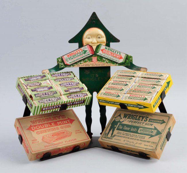 Wrigley's Gum Arrow Man Store Display