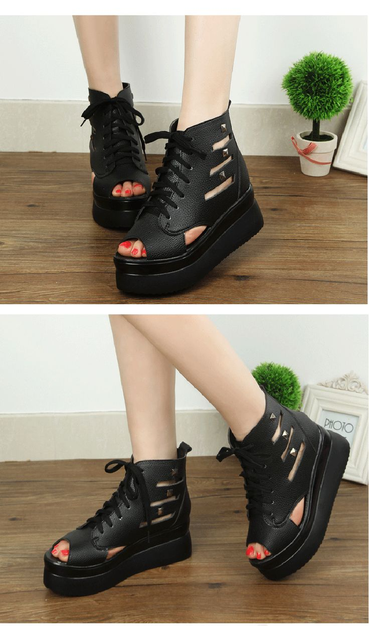 Luoma Song 2015 new heavy-bottomed cake fish head with flat sandals Women's Shoes Retro hollow Bohemian sandals Women's Shoessrtnunppijh from English Agent:BuyChina.com