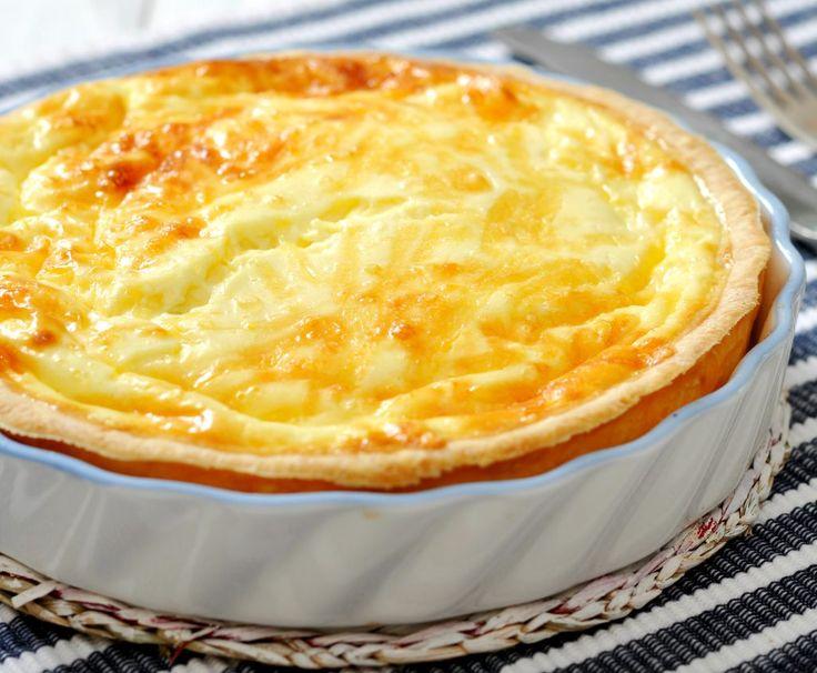 Quiche rapid cu ou și brânză | Retete culinare - Romanesti si din Bucataria internationala