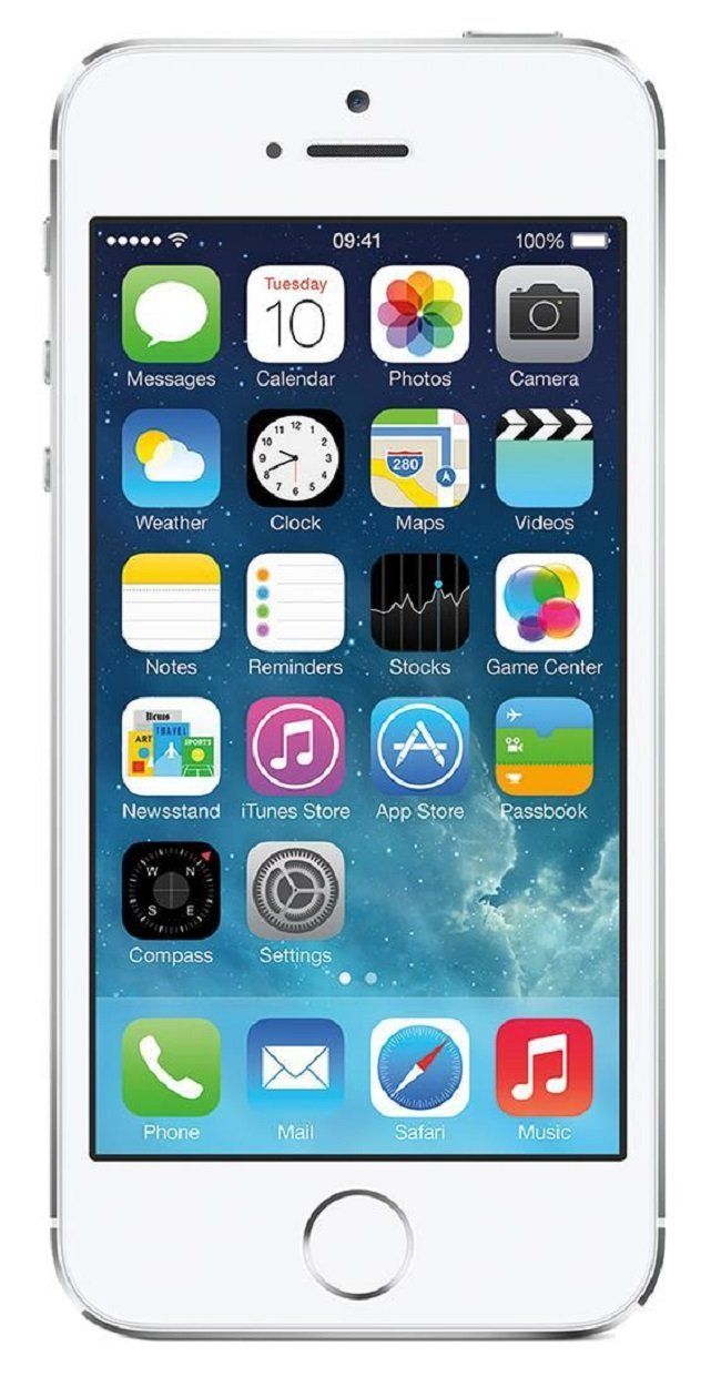 Amazon.com: Apple iPhone 5S Silver 16GB Unlocked GSM Smartphone (Certified Refurbished): Cell Phones & Accessories