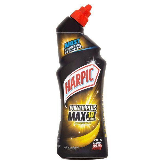 Morrisons Harpic Power Plus Citrus Fresh Toilet Cleaner 750ml Product Information In 2020 Toilet Cleaner Harpic Citrus Fresh