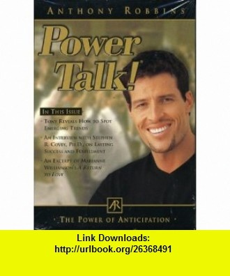 Power Talk! The Power of Anticipation Anthony Robbins ,   ,  , ASIN: B000V0P9SM , tutorials , pdf , ebook , torrent , downloads , rapidshare , filesonic , hotfile , megaupload , fileserve