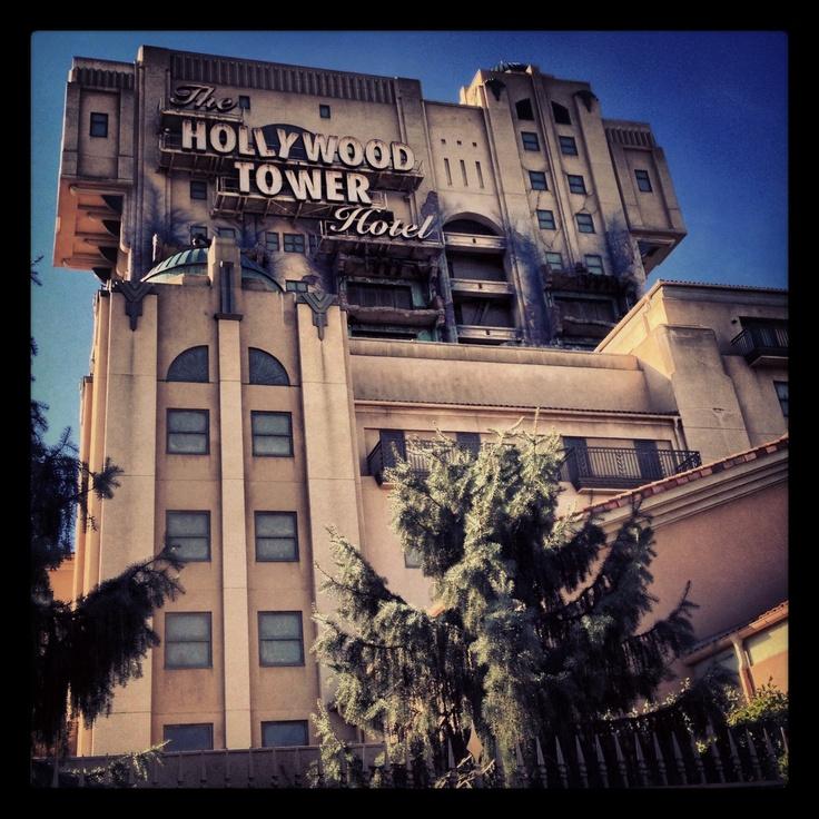 Disneyland Paris Hollywood Tower Hotel in the Walt Disney studios park WDS DLP HTH TOT Tower of terror
