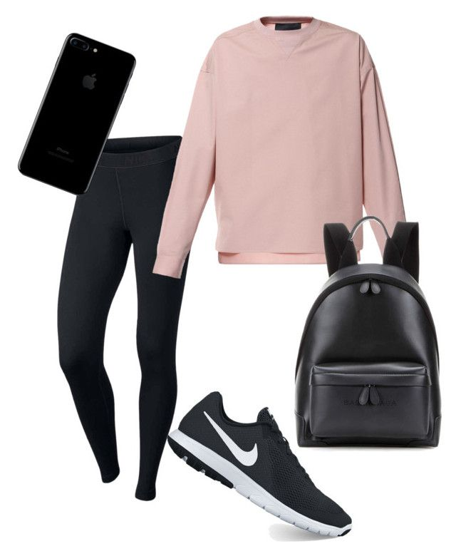 🦄 by tamas-erdos on Polyvore featuring polyvore fashion style NIKE Balenciaga Diesel clothing