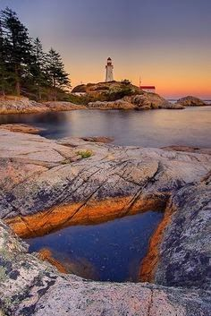 Point Atkinson Lighthouse - Vancouver, BC, Canada.