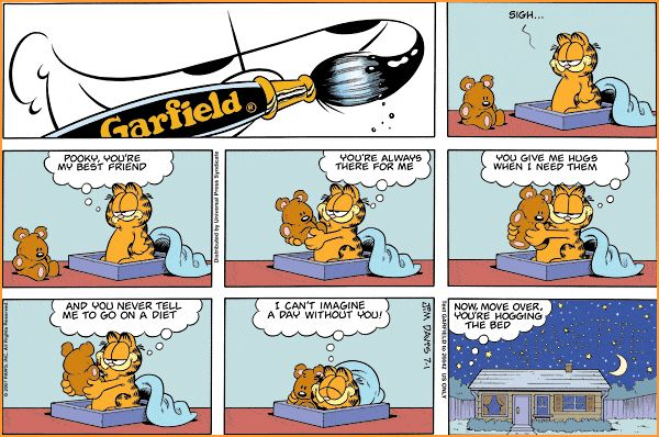 garfield comic strips | Garfield Comics Online