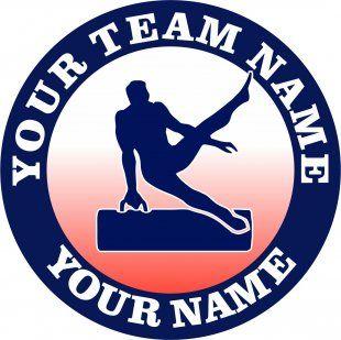 Customized Gymnastics Logo 04