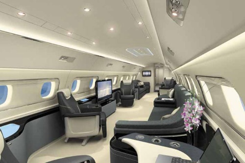 Embraer Lineage 1000 Interior  By: Embraer