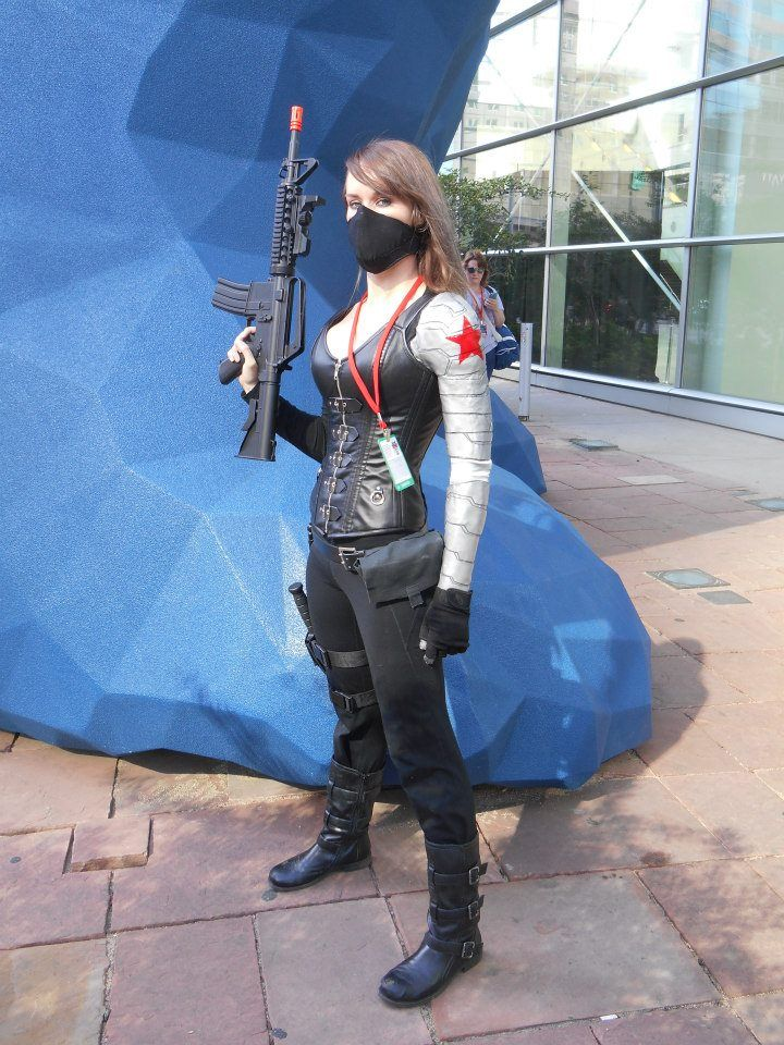 amazing Winter Soldier cosplay for Denver Comic Con 2014!
