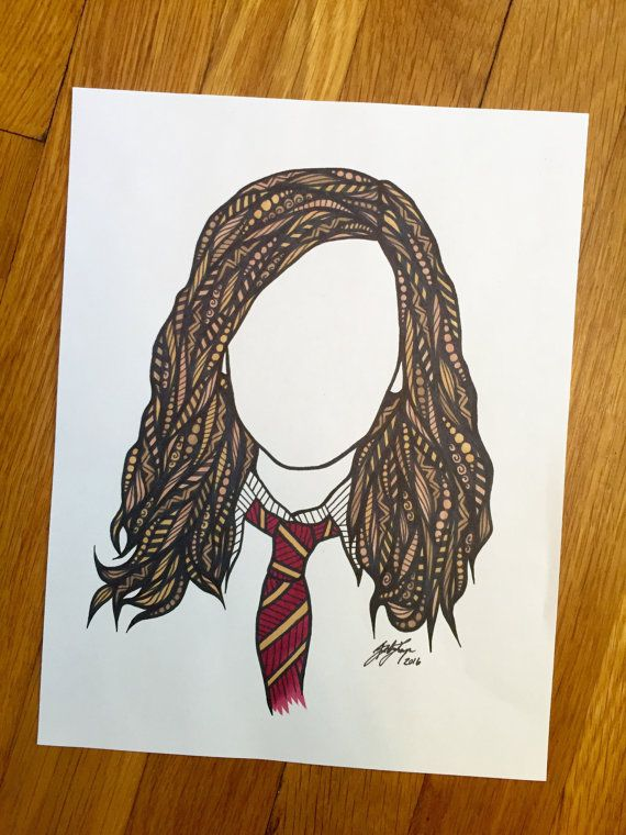 Its Hermione Granger, this print would be a gift for a Harry Potter lover