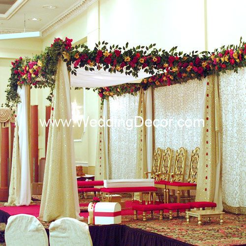 Wedding Mandap Toronto, Hindu Wedding Decoration for Indian wedding, South Asian wedding planning