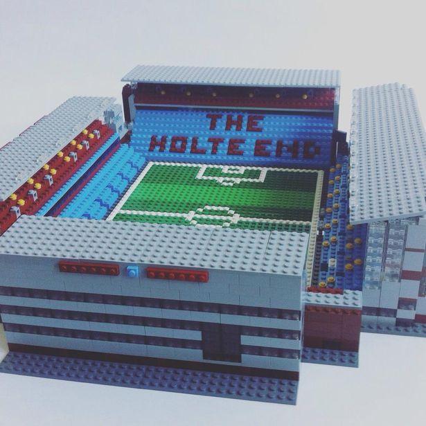 Villa Park in LEGO