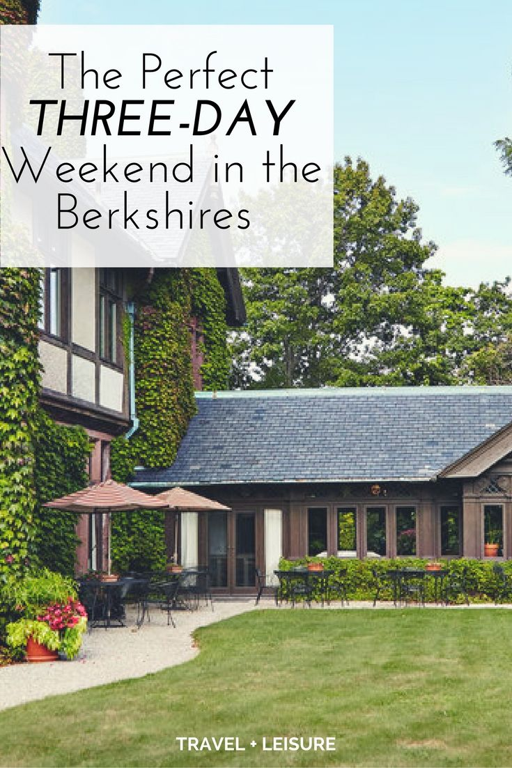 For about 80 years, the Berkshires area has been known as New England's premier summer spot for culture-driven travel.