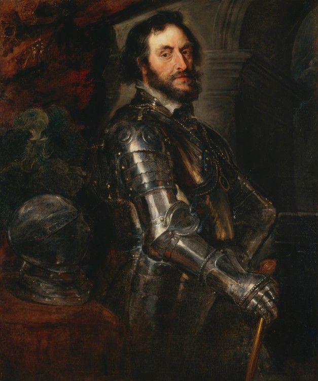 Portrait of Thomas Howard, 2nd Earl of Arundel, 1629-1630, Peter Paul Rubens, Oil on canvas, 122.2 x 102.1 cm