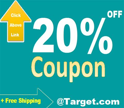 Target Promo codes help you to save the major amount of cash whenever  shopping online. Do not miss out discount offers, sale or clearance such as  Target ...