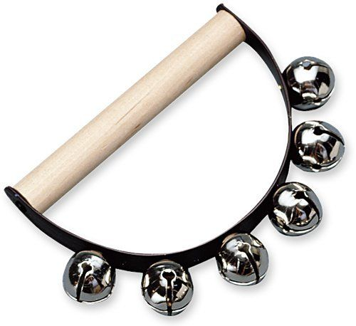 Hohner Kids Handle Sleigh Bell by Hohner Kids. $9.49. This Handle Sleigh Bell features six bells securely attached to a smooth wooden handle for durability and safety. This is a great lightweight version of the orchestra model.
