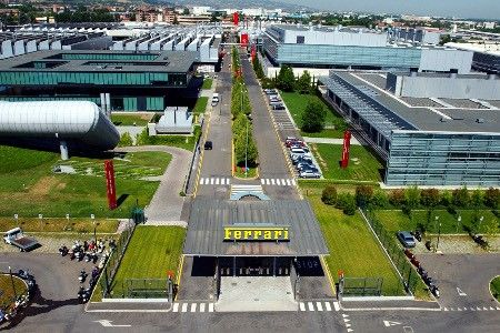 Ferrari Factory in Maranello (Modena), Italy