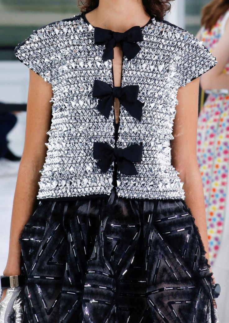 Details from Chanel Spring 2016. Paris Fashion Week.