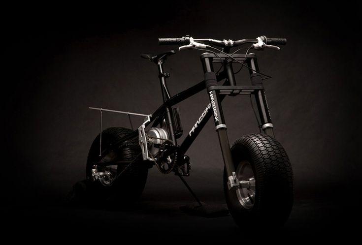 hanebrink all terrain Electric bike - virker fint uden strøm også. Magnus har prøvet den