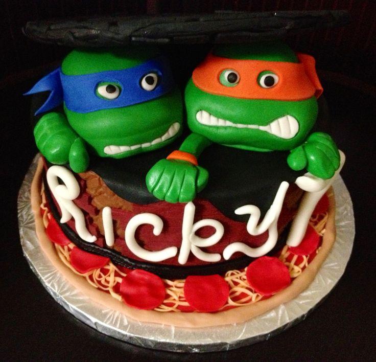 17 Best Images About Teenage Mutant Ninja Turtle Birthday