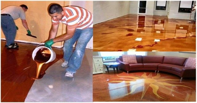 How To Create Stunning Metallic Epoxy Floors - http://eradaily.com/create-stunning-metallic-epoxy-floors/