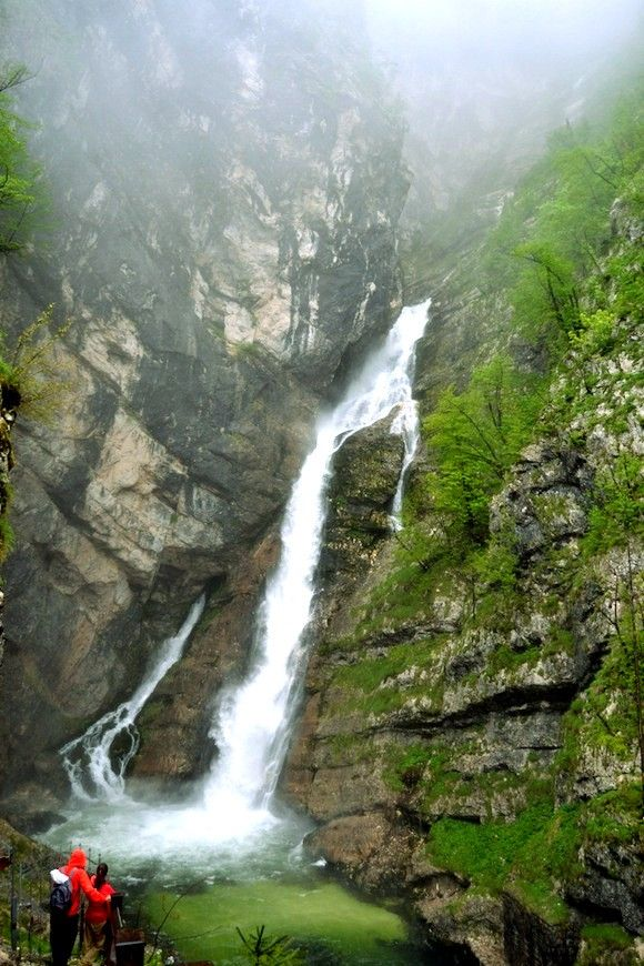 Hiking in Triglav National Park, Slovenia | sites agréables mondiaux | National parks, Julian alps, Waterfall